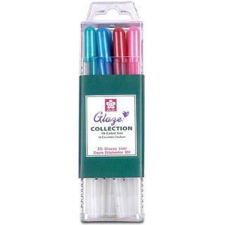 Sakura Glaze Cube Collection Markers (Pack of 16)