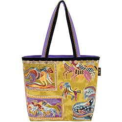 Mythical Horse Canvas Square Tote Bag