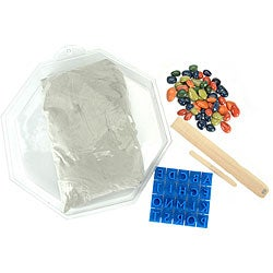 Pebble Mosaic Stepping Stone Kit