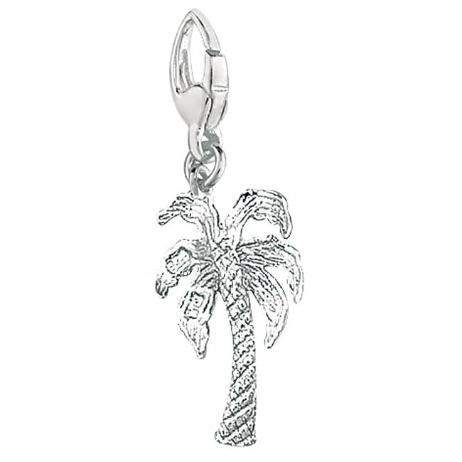 Sterling Silver Palm Tree Charm