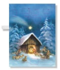 Silent Night, Holy Night Musical Advent Calendar (Hardcover)