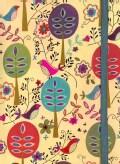 Folk Art Birds Journal (Notebook / blank book)