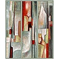 Joval 'Abstract Triptych' Framed Canvas Art