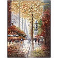Joval 'French Street Scene II' Framed Canvas Art