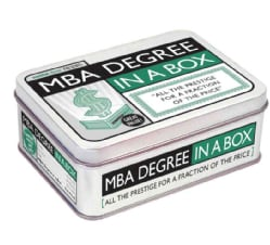 MBA Degree in a Box: All the Prestige for a Fraction of the Price (Hardcover)