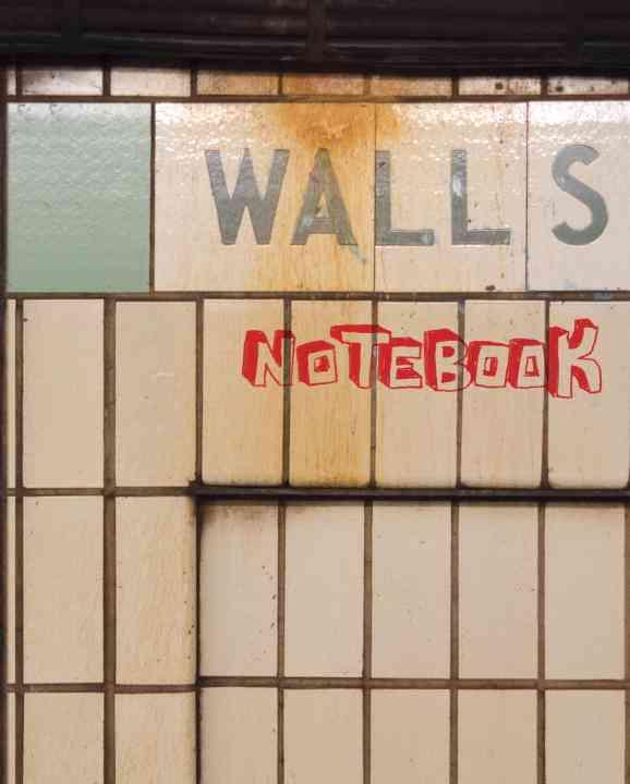 Walls Notebook (Notebook / blank book)