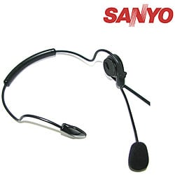 Sanyo PLUA5 Noise-cancelling Mobile Headsets (Pack of 2)