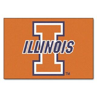 Fanmats NCAA University of Illinois Starter Mat (20 x 30)