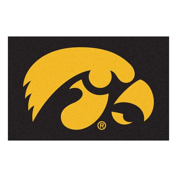 Fanmats NCAA University of Iowa Floor Mat (20 in. x 30 in.) 4209718
