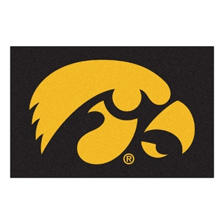 Fanmats NCAA University of Iowa Floor Mat (20 in. x 30 in.)