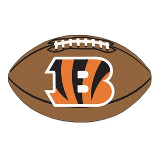 Cincinnati Bengals Football Mat
