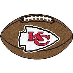 Fanmats NFL Kansas City Chiefs Football Mat