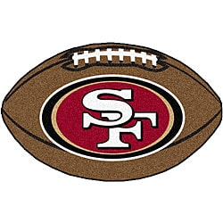 San Francisco 49ers 22x35-inch Football Mat