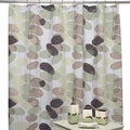 Olivia Shower Curtain and Bath Accessory 5-piece Set