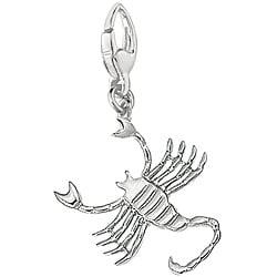 Sterling Silver Scorpio Charm