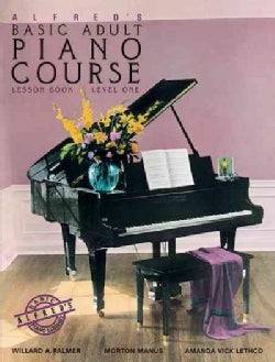 Alfred's Basic Adult Piano Course: Lesson Book, Level One/2236 (Paperback)