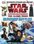Star Wars The Clone Wars Ultimate Battles Sticker Collection (Paperback)