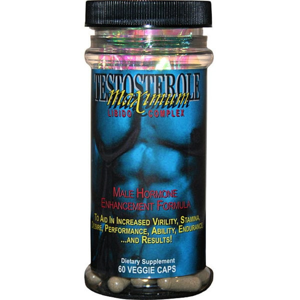 Maximum International Testosterole Male Enhancement Supplement (60 Capsules)
