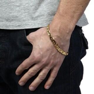 Simon Frank 14k Yellow Gold or Silver Overlay 8-inch Bracelet
