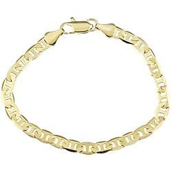 Simon Frank 14k YG Overlay 8-inch Gucci-style Bracelet