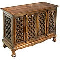 Lattice Design Storage Cabinet/ Sideboard Buffet