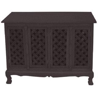 Lattice Design Storage Cabinet/ Sideboard Buffet