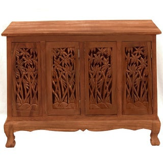 Bamboo Trees Storage Cabinet/ Sideboard Buffet (Thailand)