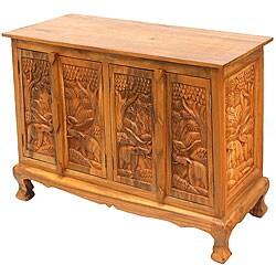 Royal Elephants Storage Cabinet/ Sideboard Buffet