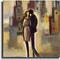 Michael Lentz 'Metropolis I' Canvas Art
