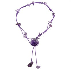 Handmade Amethyst Rose Anklet (China)