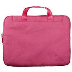 Pinder Bags Pink Nylong 13.3-inch Laptop Sleeve