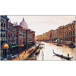 Hava 'Venice' Canvas Art