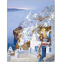 Hava 'Greece' Canvas Art