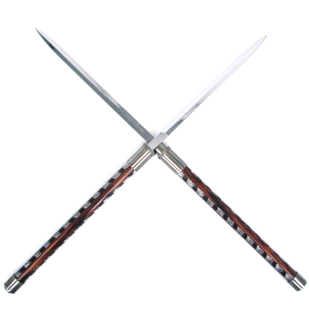 Steel Titan Twin-blade Baton Sword