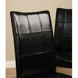 Eveleen Black Dining Chairs (Set of 4)