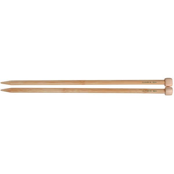 Bamboo Size 15 13 to 14-inch Single-point Knitting Needles