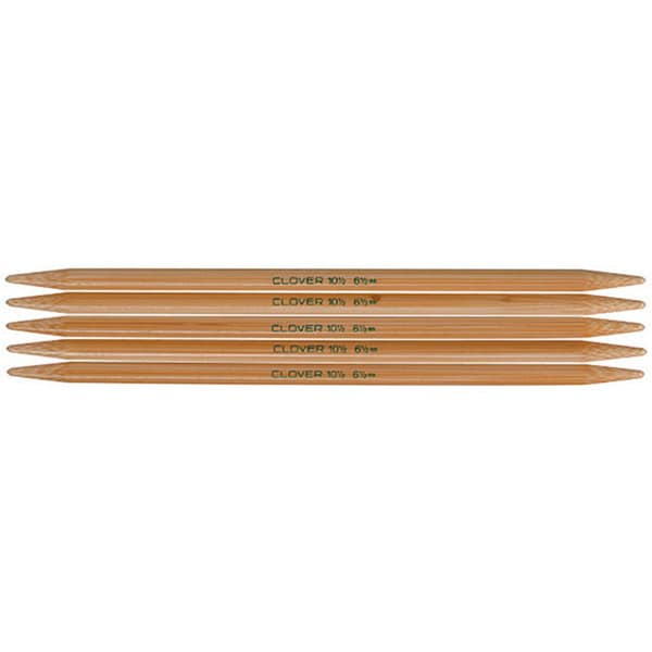 Bamboo Size 4 7-inch Double-point Knitting Needles (Pack of 5)