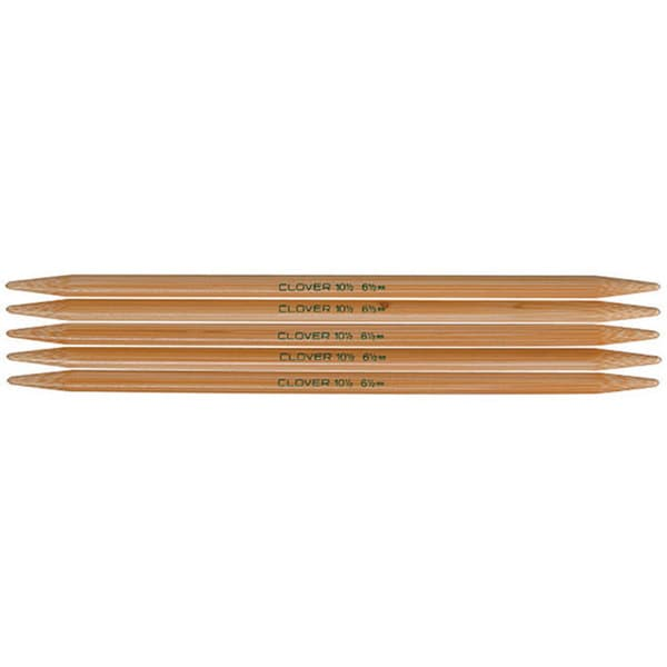 Bamboo Size 5 7-inch Double-point Knitting Needles (Pack of 5)