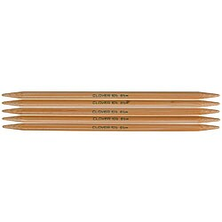 Bamboo Size 3 7-inch Double-point Knitting Needles (Pack of 5)
