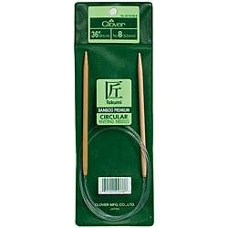 Bamboo Circular 36-inch Size 6 Knitting Needles