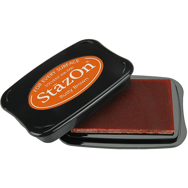 Staz-On Rusty Brown Inkpad