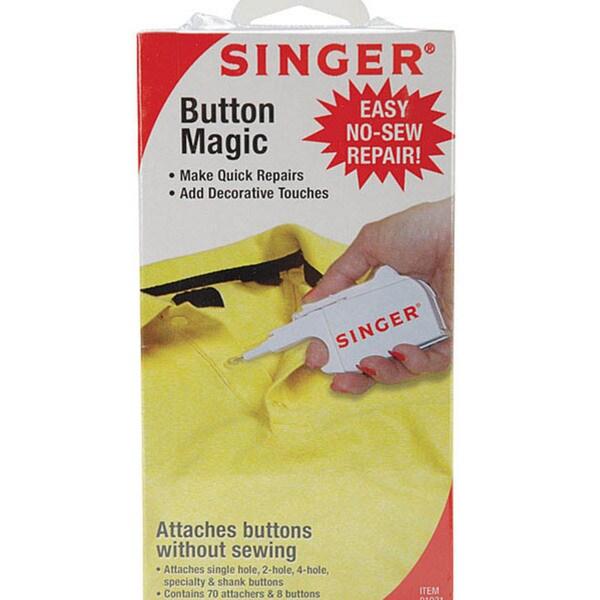 Singer Button Magic Easy No-sew Repair Kit