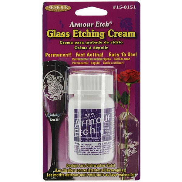 Armour Etch 2.5-oz Glass Etching Cream