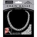 Helms Chain Maille 18-inch Silver Necklace Jewelry Kit