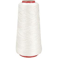 DMC 6-strand 100-gram White Cotton Embroidery Cone
