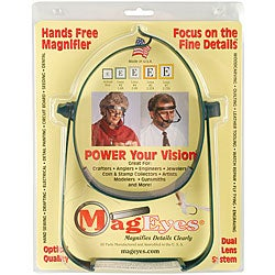 MagEyes Magnifier with #5 and #7 Lenses
