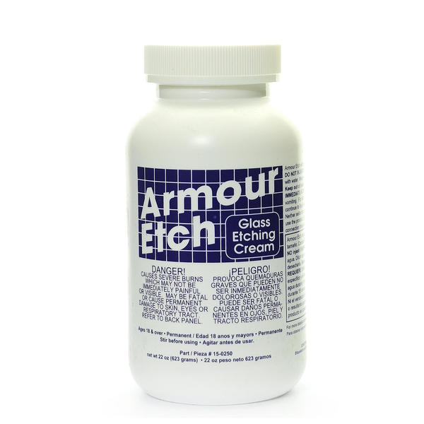 Armour Etch 22-ounce Glass Etching Cream 4230876