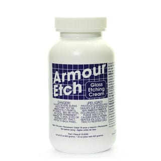Armour Etch 22-ounce Glass Etching Cream