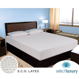 Select Luxury E.C.O. All Natural Latex Medium Firm 10-inch California King-size Hybrid Mattress