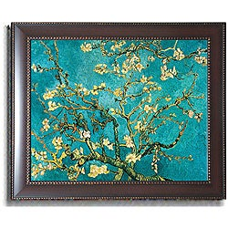 Vincent van Gogh 'Mandorlo in Fiore' Framed Canvas